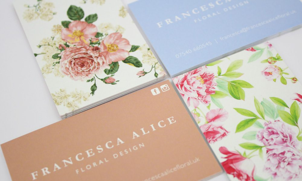Francesca Alice Business Cards
