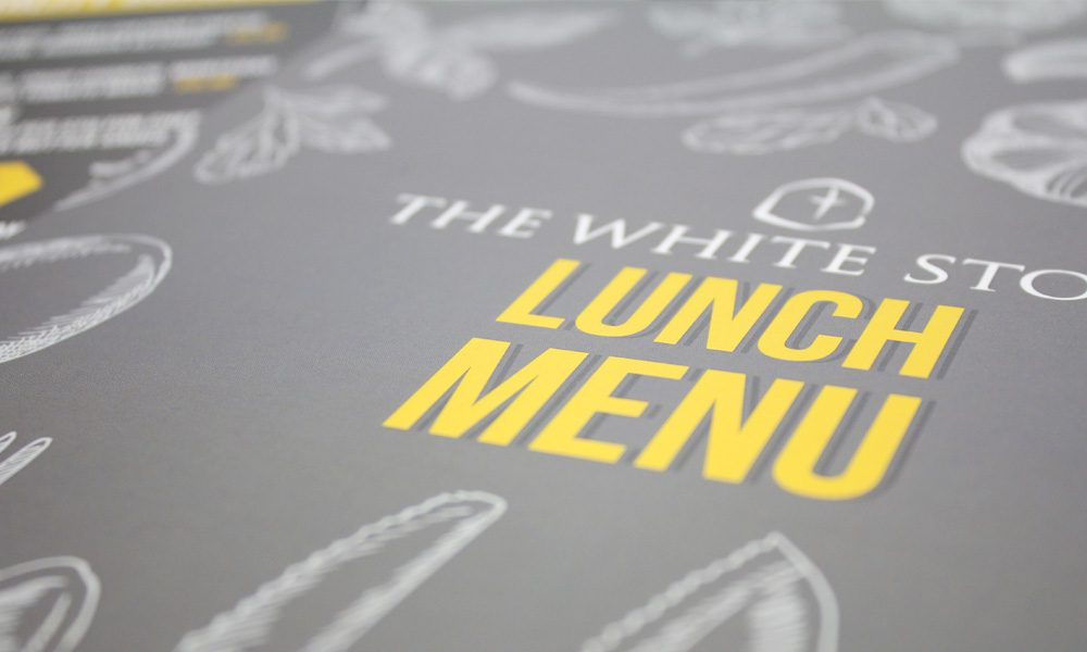 Whitestone Lunch Menu